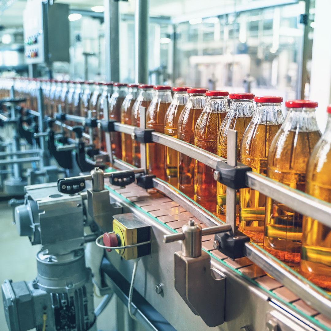 Lösungen für die Lebensmittelindustrie