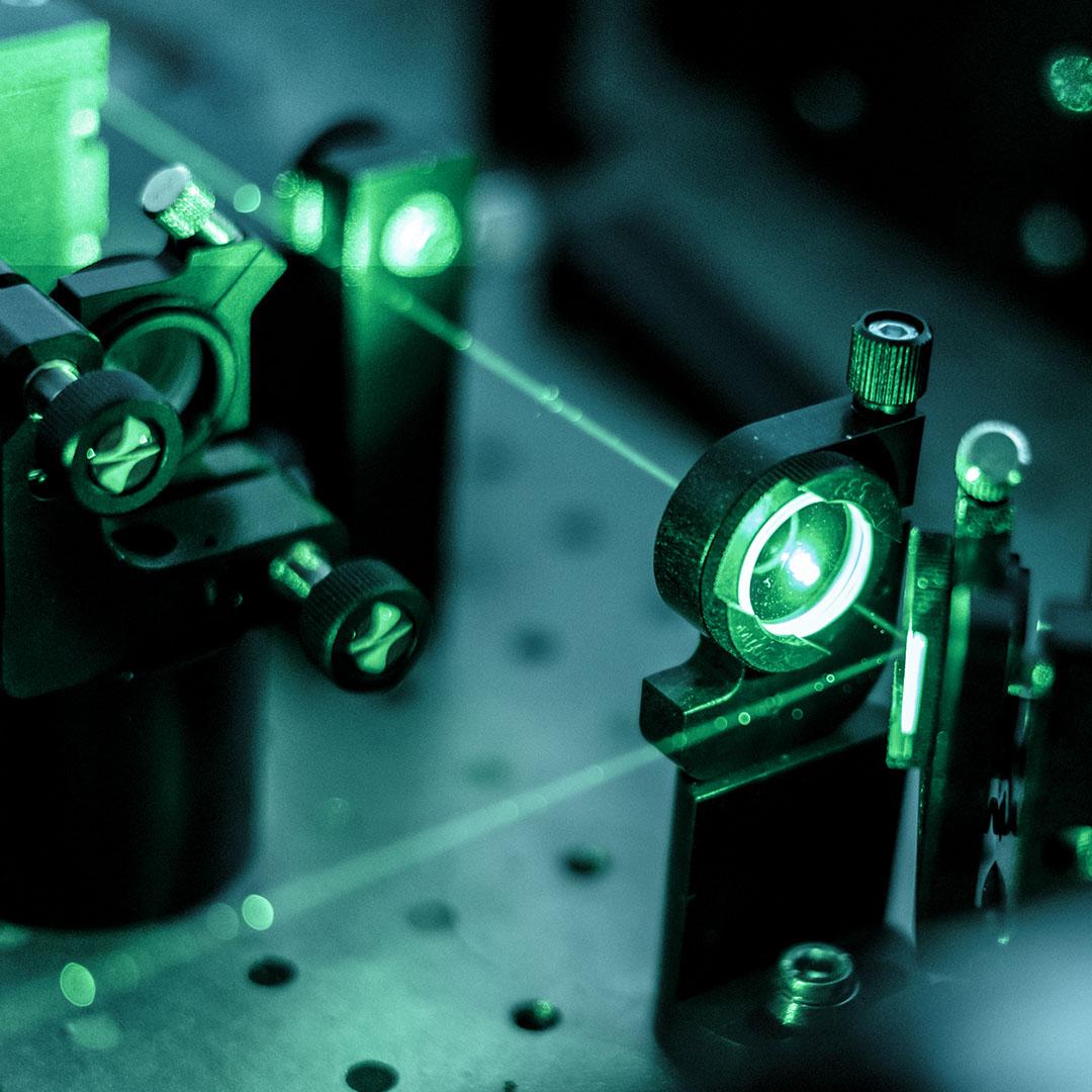 Lösungen für Optik und Lasertechnik